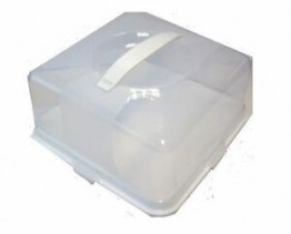 Square Cake Box With Lid