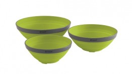 Outwell Collaps Bowl Set Lime Green