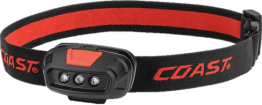 Coast Dual Colour LED Head Torch CDU of 10