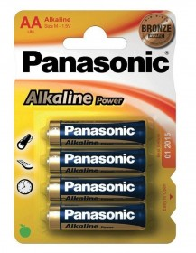 Panasonic AA LR6 Alkaline Batteries