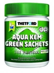 Aquakem Green Tub, 15 sachets in a Tub