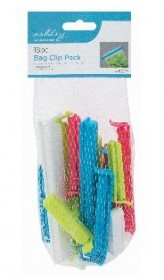 Bag Clip Pack of 18 pieces  - Box of 12