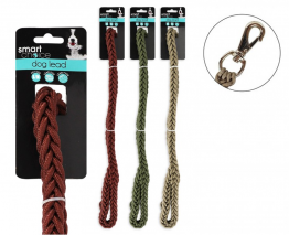 Braided Dog Lead S/M