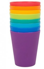 Tumblers 8Pk Asstd colour