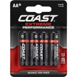 Coast AA LR6 Battery 4 Pack
