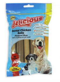 Dental Chicken Roll Treats