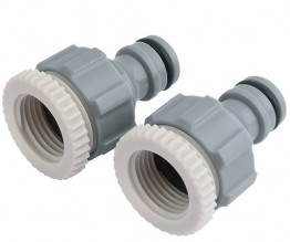 "3/4"" to 1/2"" Tap Connector Twin Pack"