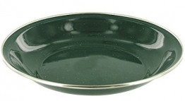 Green Enamel Soup/Pasta Bowl x 6