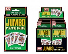 Giant Outdoor Playing Cards Pk 54