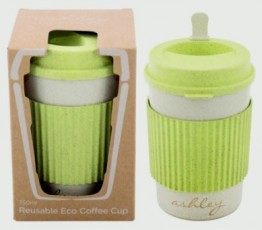 350 ML Reusable Eco Coffee Mug Pack of 6