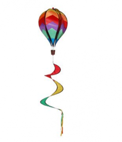 Multi-colour 'Hot Air' Balloon Spinner