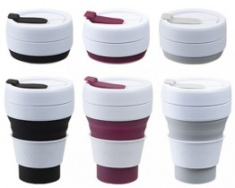 Collapsible Pocket Coffee Mug Pack of 12