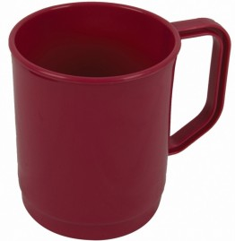 345ml Mug in Raspberry ( Pack of 6)