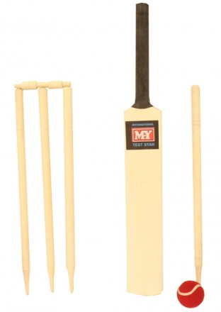 Cricket Set Size 3 in a Mesh Bag