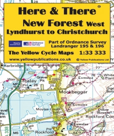 Yellow Maps Here and There - Choose from List